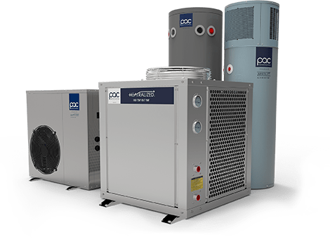 PAC Heat Pump - Eco-friendly and energy-saving water heater in Thailand
