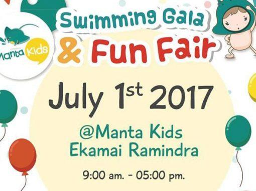 The first Swimming Gala & Fun Fair