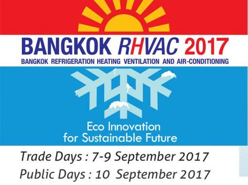Bangkok RHVAC 2017