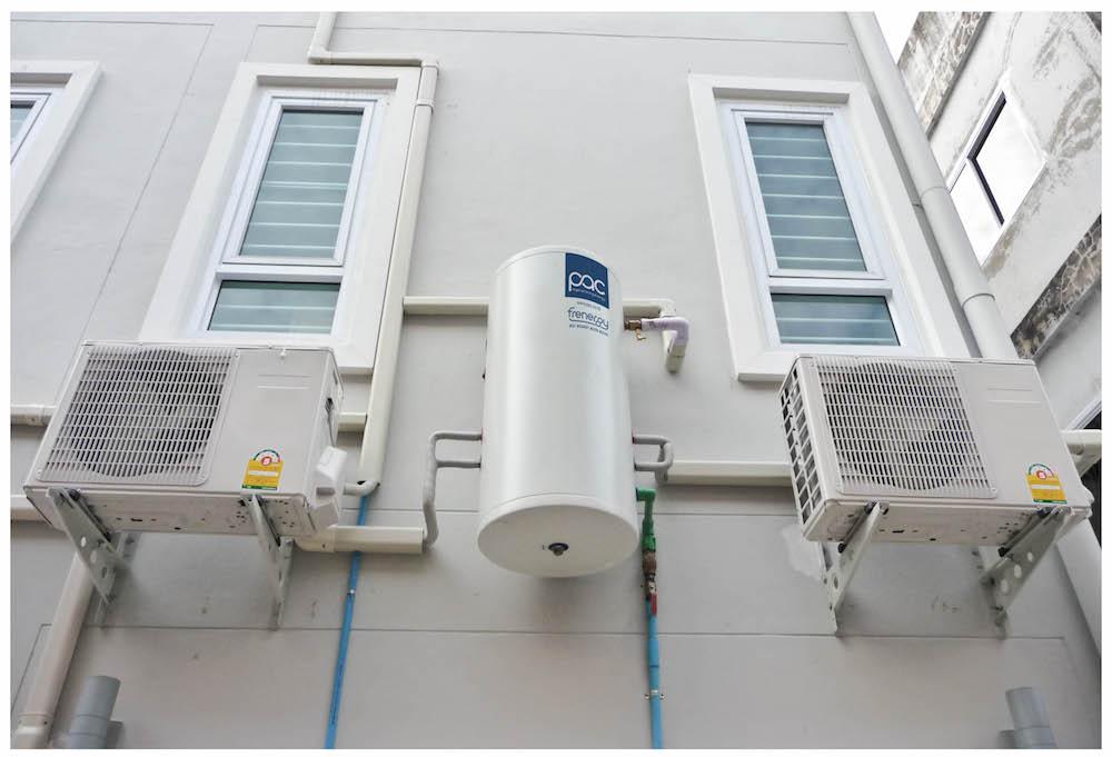 PAC Frenergy - นวัตกรรมที่สามารถทำน้ำร้อนจากแอร์ได้ฟรี ประเทศไทย