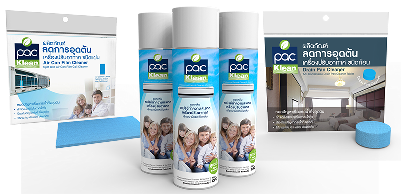 PAC Klean - see air conditioning cleaner in Thailand