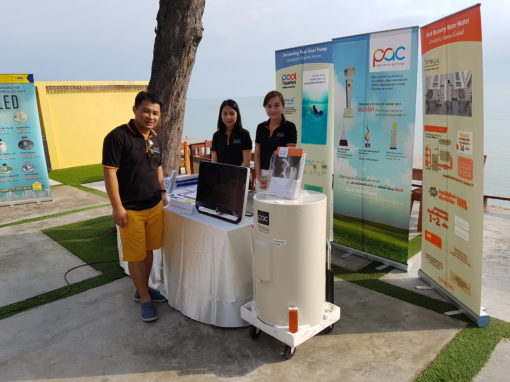 PAC booth in Hua Hin