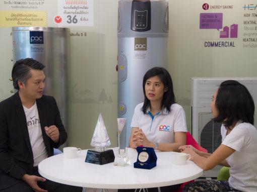 "PAC on ""Tonkla Beleaf"" TV programme"