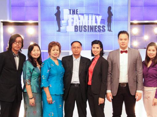PAC ออกรายการ The Family Business ช่อง 5
