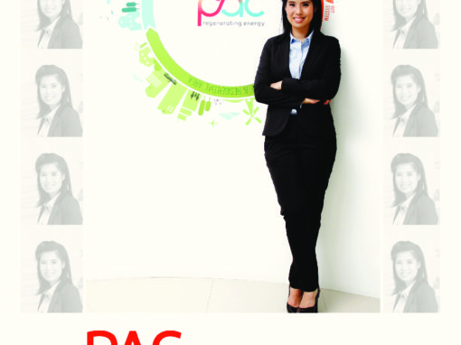 """Ms. Atchara Poomee granted an interview to the magazine """"SMES A+ 12 The brave way of new entrepreneurs"""""""