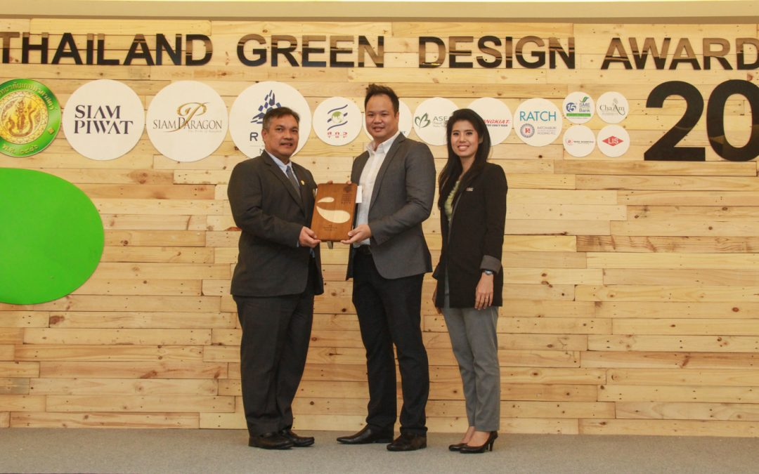 PAC Frenergy, water heater from air conditioner, won the environmental-friendly prize in the Thailand Green Design Awards 2018