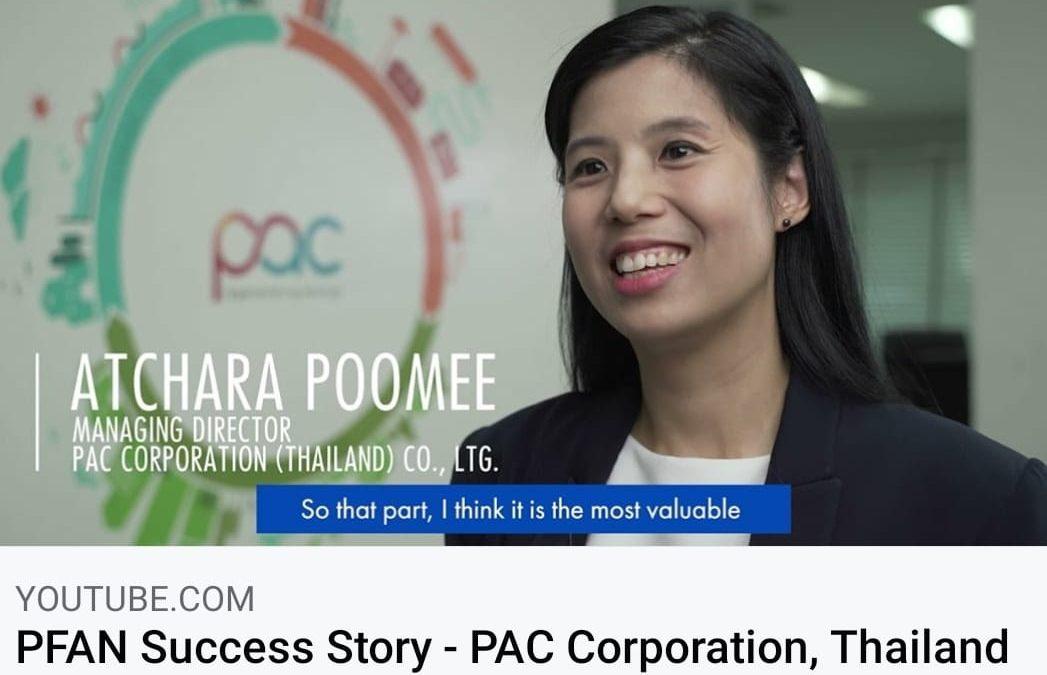 PAC ในรายการ PFAN Success Story